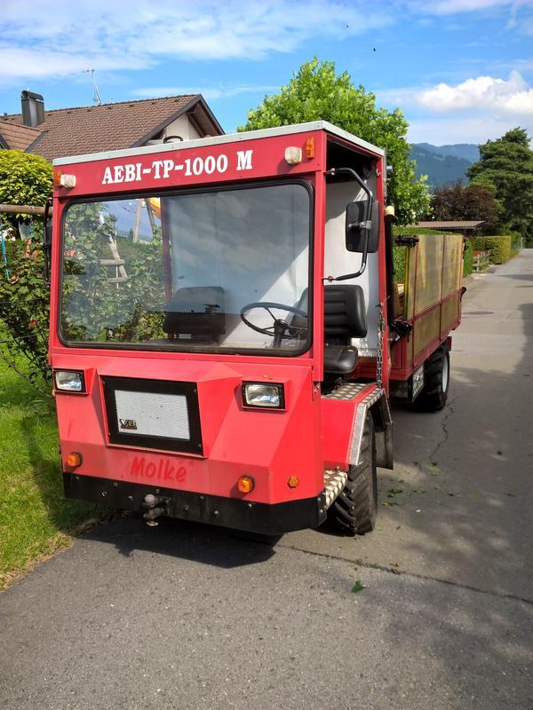 aebi tp 1000 transporter in dornbirn traktoren landwirtschaftliche fahrzeuge kaufen und. Black Bedroom Furniture Sets. Home Design Ideas