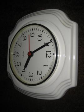 ältere Wanduhr Küchenuhr Porzellanuhr Uhr: Kleinanzeigen aus Birkenheide Feuerberg - Rubrik Sonstige Antiquitäten