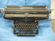 alte Continental Schreibmaschine Braun Anlage