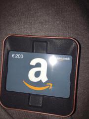 Amazon 200EUR Gutschein