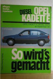 ANLEITUNGSBUCH OPEL KADETT 84