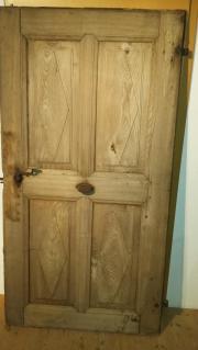 Antike massive Holztüre