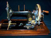 Antike Nähmaschine der Gebrüder Kayser