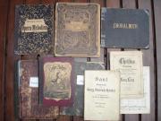 Antiquarische Liederbücher