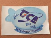 AUFKLEBER, neu, - FISHING -,