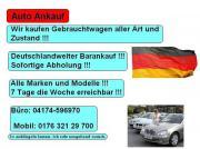 AUTO ANKAUF Hamburg suche Gebrauchtwagen
