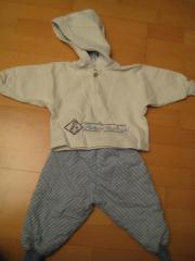 Babyanzug Babyjacke Kapuzenjacke 74