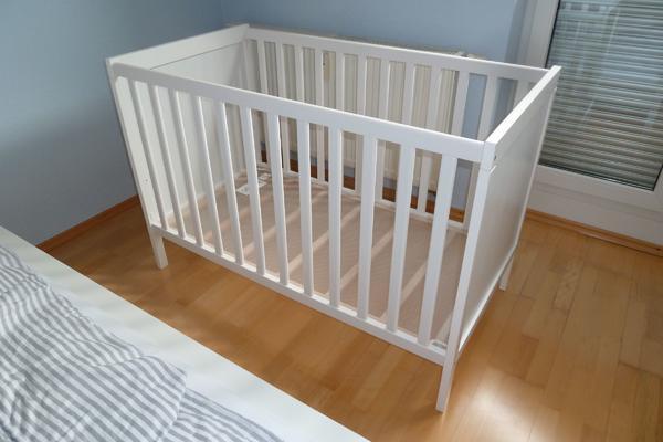 ikea babybett neu und gebraucht kaufen bei. Black Bedroom Furniture Sets. Home Design Ideas