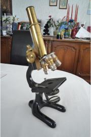 Babylon Mikroskop alt Messing sehr