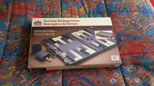 Backgammon Spiel Gross Von Pavillion Kunstlederkoffer In Rodenbach