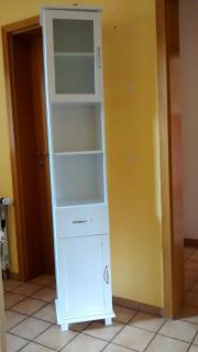 Schmaler Badezimmerschrank - Haushalt & Möbel - Gebraucht Und Neu ... Schmaler Badezimmerschrank