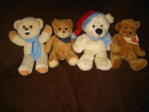 Bären 4 Stück - Achtung Sammler