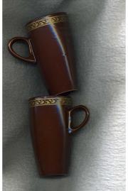 Bechertassen und passende Teelichthalter