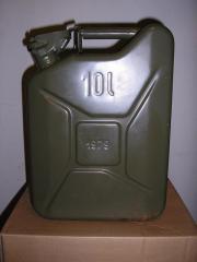 Benzinkanister 10l aus
