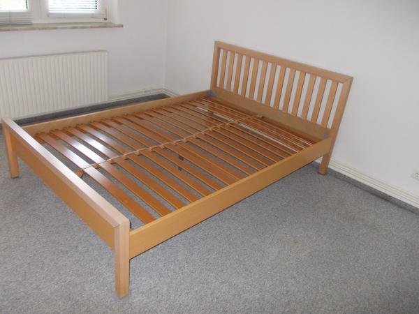 bett buche 180 gebraucht kaufen nur 3 st bis 75 g nstiger. Black Bedroom Furniture Sets. Home Design Ideas
