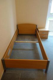 Bett Und Nachttisch Buche Nachbildung In Bad Wimpfen Betten Kaufen