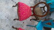 Biedermeier Stühle, 5xneu