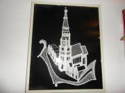 Bild Landshut Martinsturm Klöppelarbeit