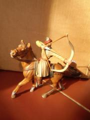 Bogenschütze auf Pferd