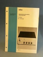Braun CSV 300 original Manual