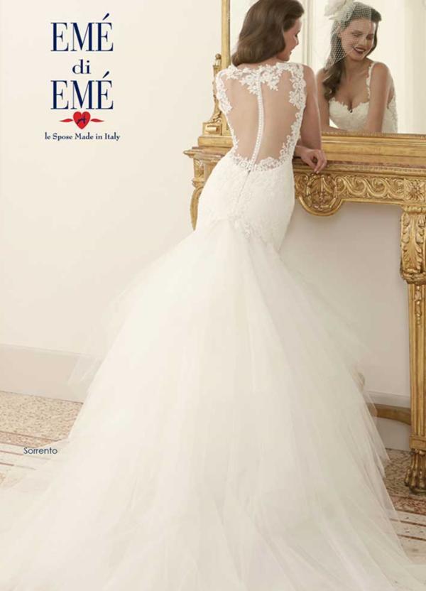 Ungewöhnlich Traditionelle Italienische Brautkleid Zeitgenössisch ...