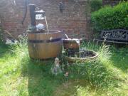 Brunnen mit Zubehör