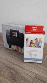 Canon Fotodrucker + Papier