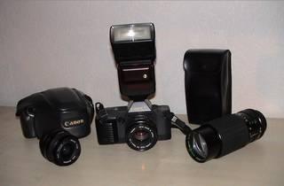 Canon T70 Spiegelreflexkamera
