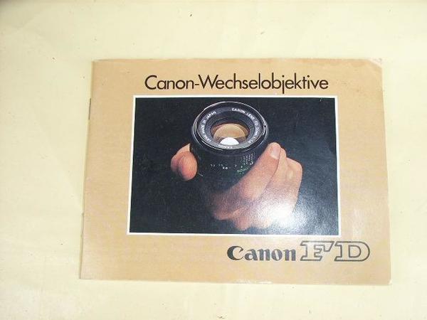 Canon Wechselobjektive Canon FD