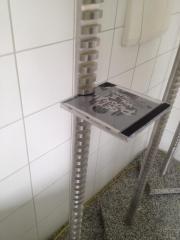 CD Rack Ständer Regal Aluminium -