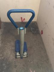 Crosstrainer blau