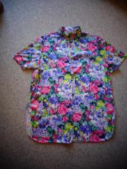Damen Vintage Long - Sommer - Bluse