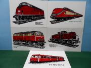 DB - Eisenbahn - Diesellok -