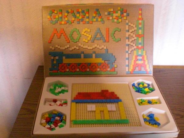DDR Steckspiel Mosaic GLORIA