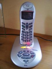 Digitales schnurloses Telefon mit voller