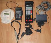 diverse elektronische Geräte aus Geschäftsauflösung