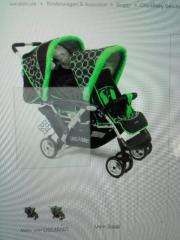 doppel Kinderwagen Zwillingswagen