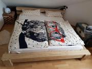 Doppelbett Viktoria Holz