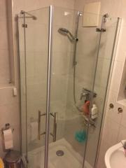 Duschkabine Eckeinstieg Echtglass