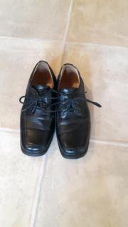 Echtleder-Schuhe Gr.