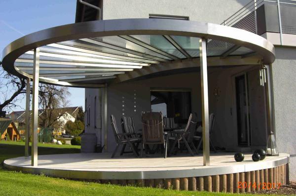 edelstahlarbeiten rund ums haus carport terrasse gel nder. Black Bedroom Furniture Sets. Home Design Ideas