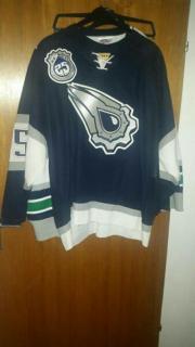 Edminton Oilers Icehockeytrikot Salo 35