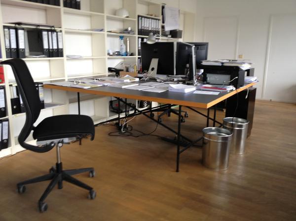 Eiermanngestell inkl. Tischplatte 100 x 200 in Nürnberg - Büromöbel ...