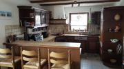 Einbauküche mit Theke