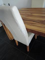 esszimmer palisander tisch mit 4 lederstühlen in sisseln ag, Esszimmer dekoo