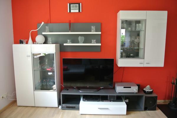 Exklusive Wohnzimmer Schrankwand In Modernem Design In Lauf