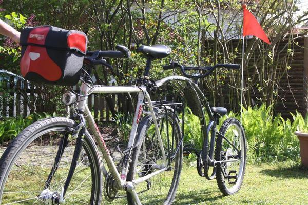 kindertrailer fahrrad