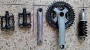 Fahrradteile: Dämpfer_gefederte