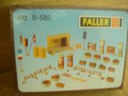 Faller B-585 Stadtausschmückung NEU OVP