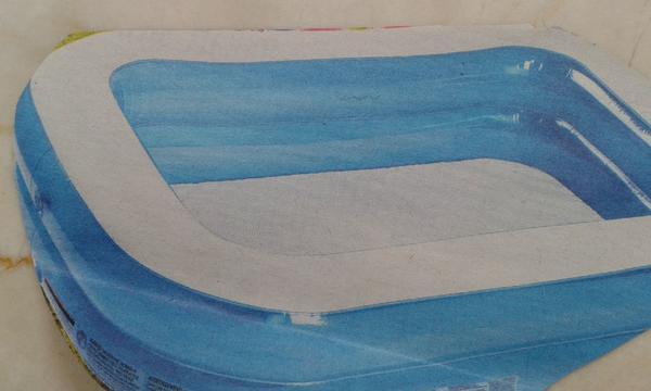 Family-Pool/Plantschbecken - München West - Family-Pool mit Abdeckplane 700l Fassungsvermögen, ca. 260 x 175 x 50 cm, nur wenige Male benutzt - München West